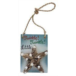 Brighten the Season Driftwood Starfish Sign