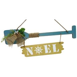 Brighten the Season Sandy Shore Noel Oar Hanging