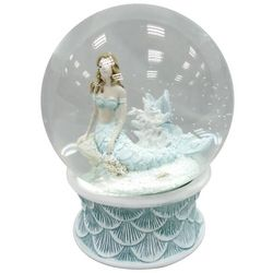 Brighten the Season Sandy Shore Mermaid Waterglobe