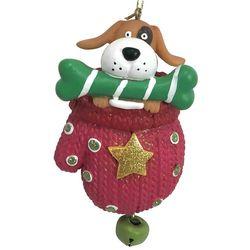 Brighten the Season Pets Dog in a Glove Ornament