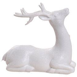 Brighten the Season Sandy Shore Sitting Deer Figurine
