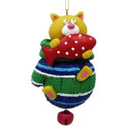 Brighten the Season Pets Cat in a Glove Ornament