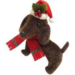 Brighten the Season Pets Plush Dachshund Ornament