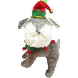 Brighten the Season Pets Plush Schnauzer Ornament