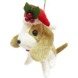 Brighten the Season Pets Plush Golden Retriever Ornament