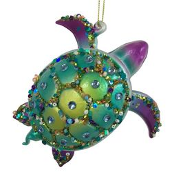 Brighten the Season Brights Turtle Ornament