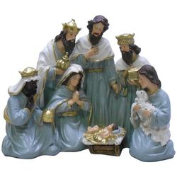 Brighten the Season Sandy Shore Nativity Decor