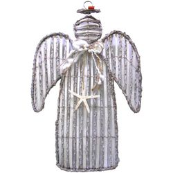 Brighten the Season Sandy Shore Angel Wall Decor