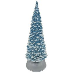 Brighten the Season Sandy Shore  LED Snowy Tree Figurine