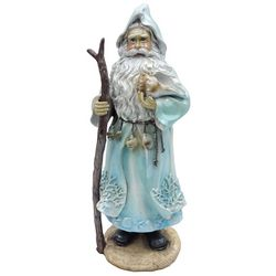 Brighten the Season Sandy Shores Coastal Santa Figurine