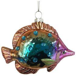 Brighten the Season Brights Tropical Fish Glass Ornament