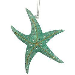 Brighten the Season Brights Blue Starfish Ornament