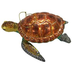 Brighten the Season Brights Multi Color Turtle Ornament