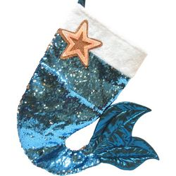 Brighten the Season Mermaid Tail Stocking