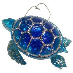 Brighten the Season Brights Blue Turtle Ornament