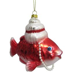 Brighten the Season Brights Mrs. Claus Fish Ornament