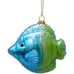 Brighten the Season Brights Glass Tropical Fish Ornament