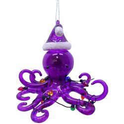 Brighten the Season Brights Glass Octopus Ornament