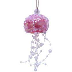 Brighten the Season Brights Glass Jellyfish Ornament