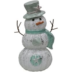 Brighten the Season Fairytale Snowman Figurine