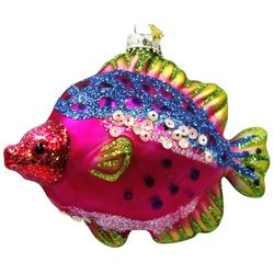 Brighten the Season Brights Glass Multi Color Fish