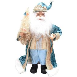 Brighten the Season Fairytale Beach Santa Figurine