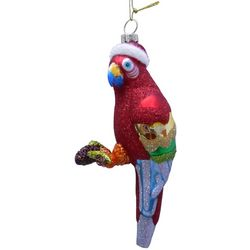 Brighten the Season Florida Bealls Red Parrot Ornament