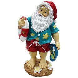 Brighten the Season Florida Bealls Beach Santa Figurine