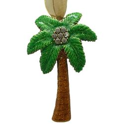 Brighten the Season Palmingo Posh Palm Tree Ornament