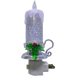 Brighten the Season Taper Candle Nightlight