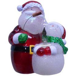 Brighten the Season Santa And Snowman Night Light