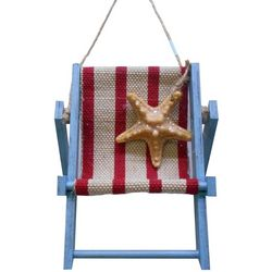 Brighten the Season Florida Bealls Beach Chair Ornament
