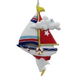 Brighten the Season Florida Bealls Sailboat Ornament