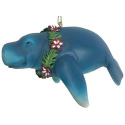 Brighten the Season Florida Bealls Manatee Ornament