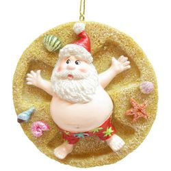 Brighten the Season Florida Bealls Santa Sand Angel Ornament