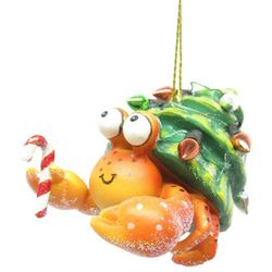 Brighten the Season Florida Bealls Hermit Crab Ornament