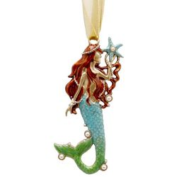 Brighten the Season Fairytale Mermaid With Pearls Ornament