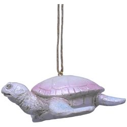 Brighten the Season Fairytale Pale Pink Turtle Ornament