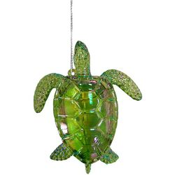 Brighten the Season Fairytale Lime Green Turtle Ornament