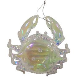 Brighten the Season Fairytale Clear Crab Ornament