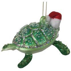 Brighten the Season Florida Bealls Christmas Turtle Ornament