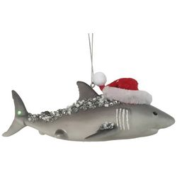 Brighten the Season Florida Bealls Christmas Shark Ornament