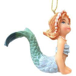 Brighten the Season Fairytale Blue Mermaid Ornament