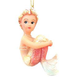 Brighten the Season Fairytale Mermaid Sitting Ornament