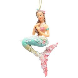 Brighten the Season Fairytale Mermaid Ornament