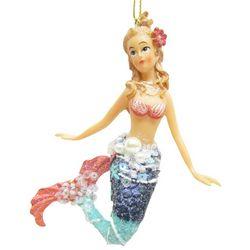 Brighten the Season Fairytale Mermaid with Beads Ornament