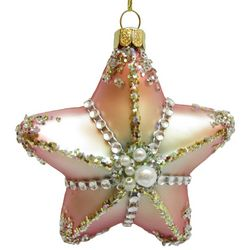 Brighten the Season Fairytale Starfish with Beads Ornament