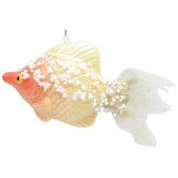 Brighten the Season Fairytale Beaded Goldfish Ornament