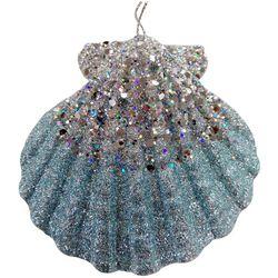 Brighten the Season Sandy Shore Scallop Shell Ornament