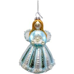 Brighten the Season Sandy Shore Angel With Beads